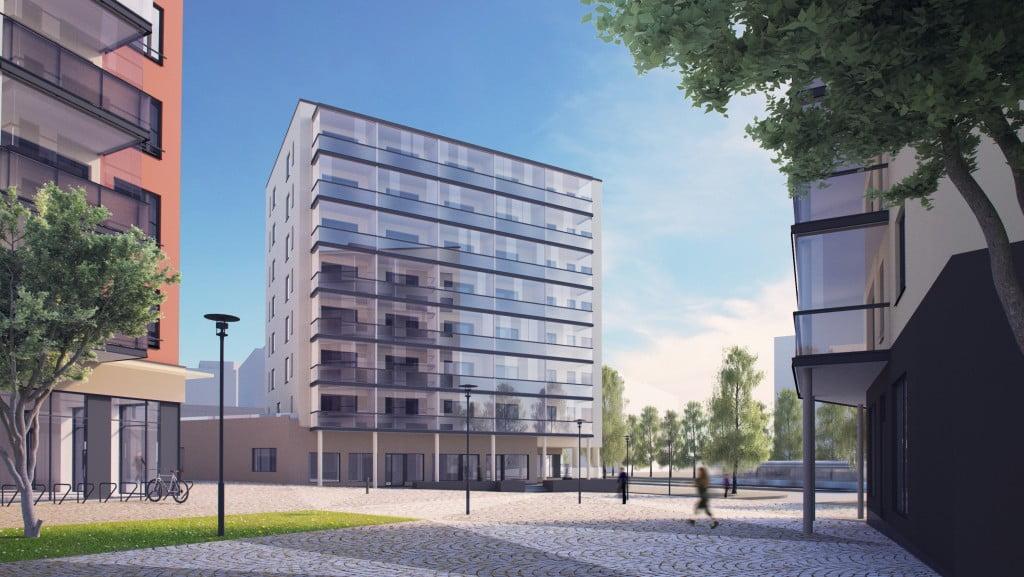 Tampereen Kalevan Iris<br><nobr>1H+ALK+KT+Parveke</nobr>, <nobr>28,5 m²</nobr>, <nobr>7/8 krs.</nobr>